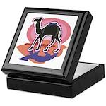 Colorful Camel Design Keepsake Box