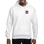 Colorful Camel Design Hooded Sweatshirt