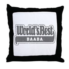WB Grandpa [Gujarati] Throw Pillow