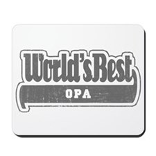 WB Grandpa [German] Mousepad