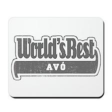 WB Grandpa [Galician] Mousepad