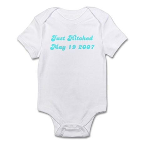Just Hitched May 19 2007 Infant Bodysuit