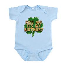 Irish Birthday with Shamrock Infant Bodysuit