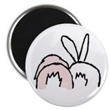 "Unique Rabbit 2.25"" Magnet (100 pack)"