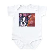 Boston Terrier #1 Infant Bodysuit