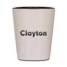 Clayton Metal Shot Glass