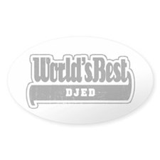 WB Grandpa [Croatian] Oval Decal