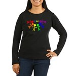 Scott Designs Women's Long Sleeve Dark T-Shirt