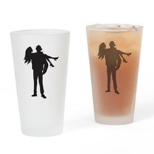 Fireman's Wife Drinking Glass