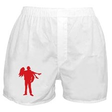Fireman's Wife-RED Boxer Shorts