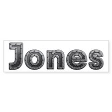 Jones Metal Bumper Bumper Sticker