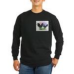 Mottle OE2 Long Sleeve Dark T-Shirt