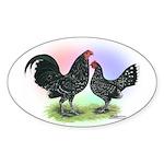 Mottle OE2 Oval Sticker
