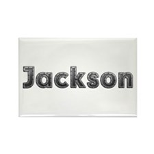 Jackson Metal Rectangle Magnet 100 Pack