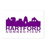 Hartford Skyline Postcards (Package of 8)