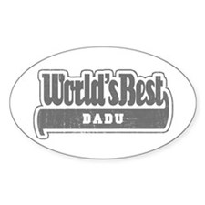 WB Grandpa [Bengali] Oval Decal