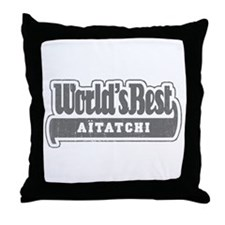 WB Grandpa [Basque] Throw Pillow