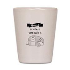 Vintage Trailer - Home is where you park it Shot G