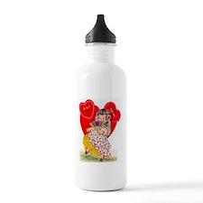 RetroValentine Senorit Water Bottle