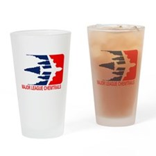 Major League Chemtrails Drinking Glass