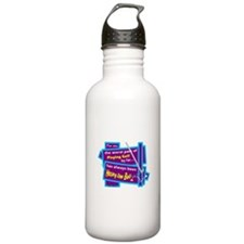 Hitting The Ball/Dave Barry Water Bottle
