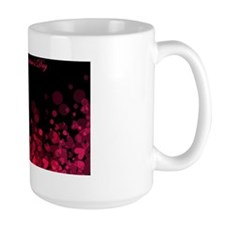 Red and Pink Bokeh Hearts - Valentine's Mug