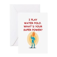 WATERPOLO Greeting Cards