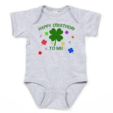 Happy O'Birthday to Me Baby Bodysuit