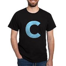 Letter C Light Blue T-Shirt