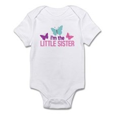 i'm the little sister butterfly Infant Bodysuit