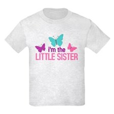 i'm the little sister butterfly T-Shirt