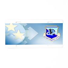 USAF News Agency Aluminum License Plate