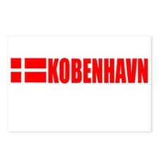 Kobenhavn, Denmark Postcards (Package of 8)