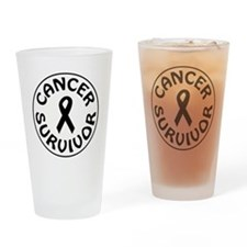 CANCER SURVIVOR Drinking Glass