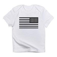 Subdued US Flag Tactical Infant T-Shirt
