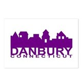 Danbury Connecticut Postcards (Package of 8)