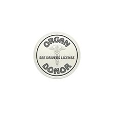 ORGAN DONOR Mini Button (10 pack)
