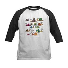 Snails abound Baseball Jersey