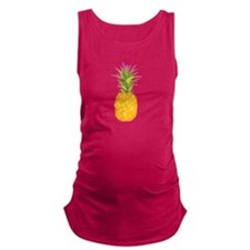 Pineapple Maternity Tank Top