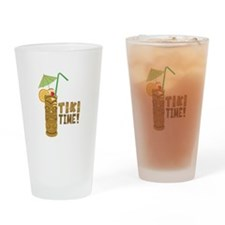 Tiki Time! Drinking Glass