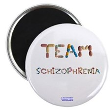 Team Schizophrenia Magnet