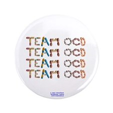 "Team OCD Button 3.5"" Button"