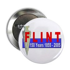 Flint 150 years Button