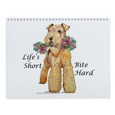 Airedales Rule! Wall Calendar