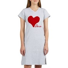RED HEART LOVE inspired by Pablo Neruda Women's Ni