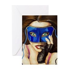 The Masquerade Greeting Card