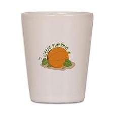 Little Pumpkin Shot Glass