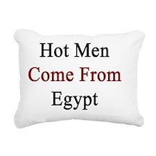 Hot Men Come From Egypt  Rectangular Canvas Pillow