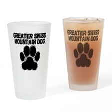 Greater Swiss Mountain Dog Distressed Paw Print Dr