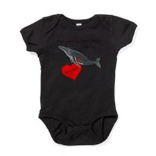 Personalized Humpback Whale Baby Bodysuit